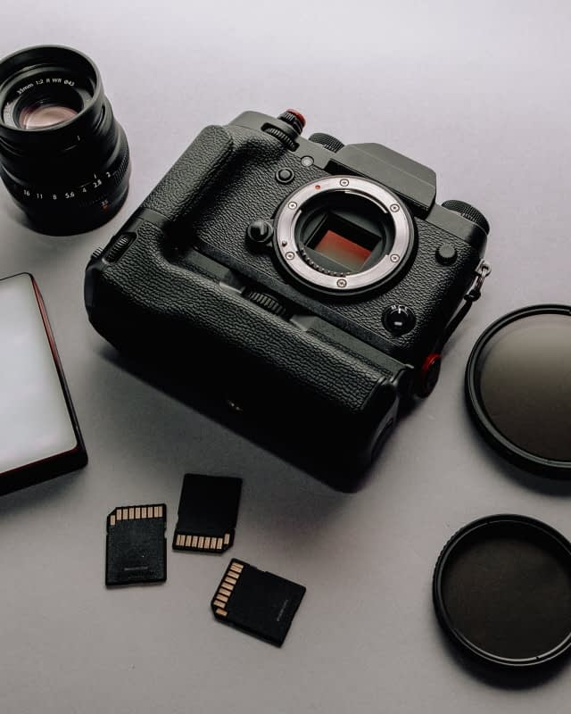 equipment product photography homemade