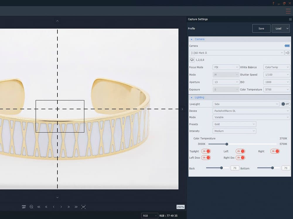 software for jewellery photography
