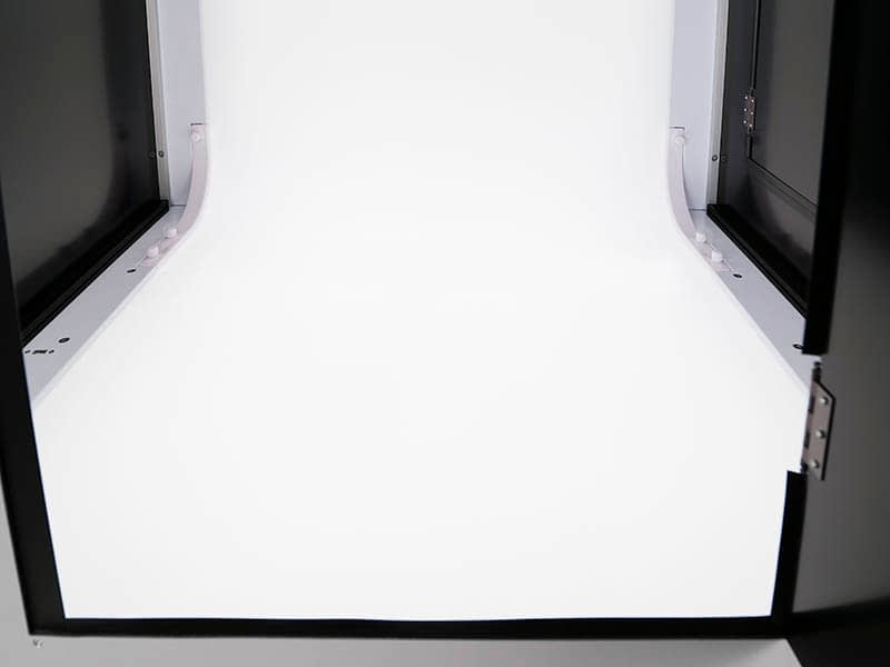 the inside of a photo studio