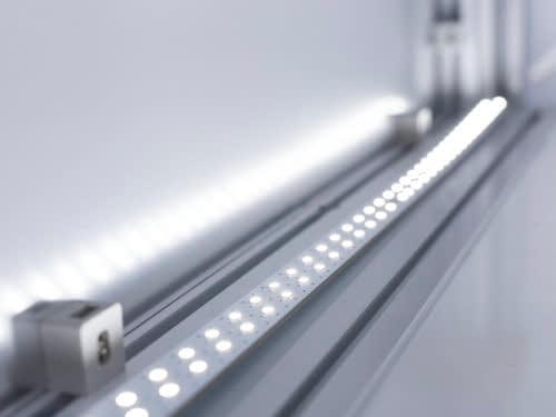 LED lighting system for product photo shootings