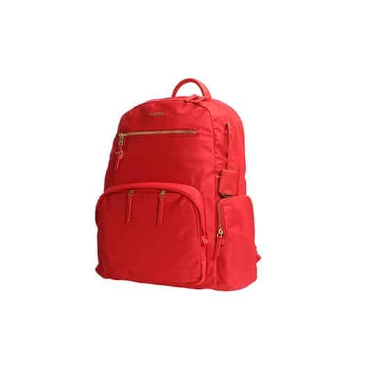 backpack on pure white background