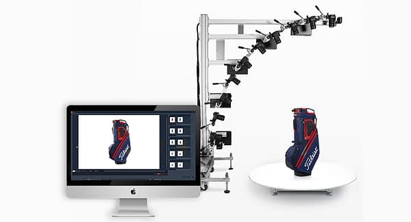 3D product photography equipment and software