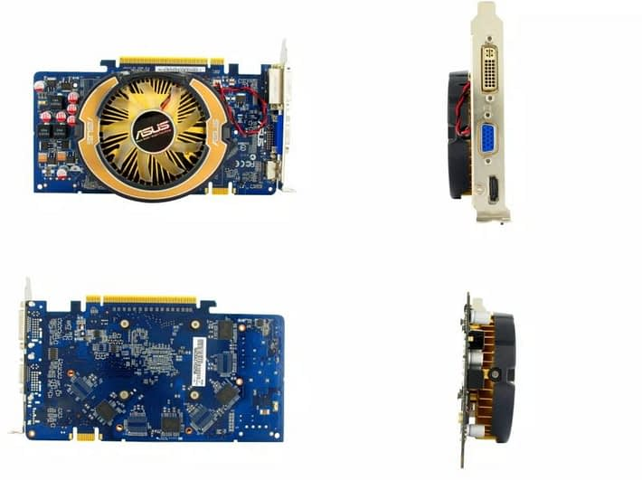 multi-side photography of a component