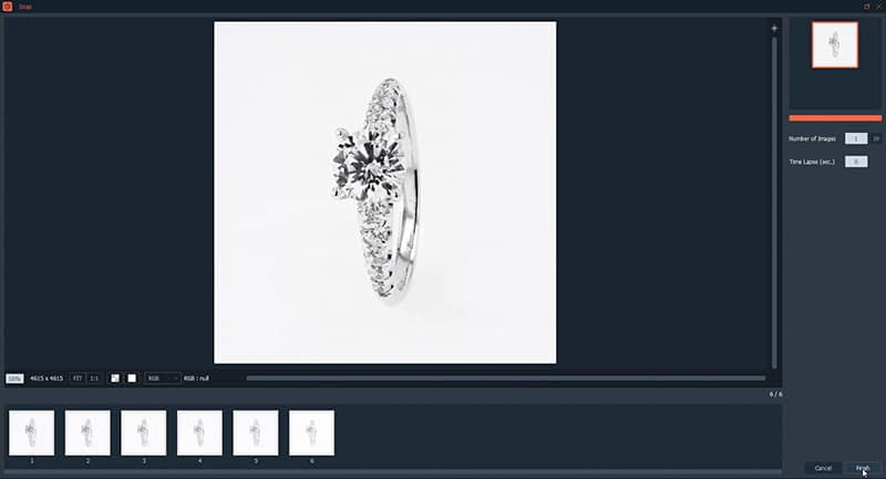 Automatic compilation of your ring photographs