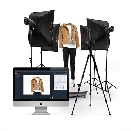 software-controlled photo studios for fashion photography