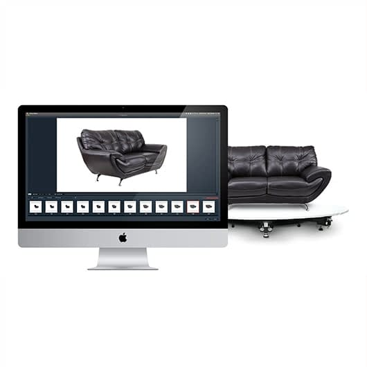 software-controlled solutions for furniture photography