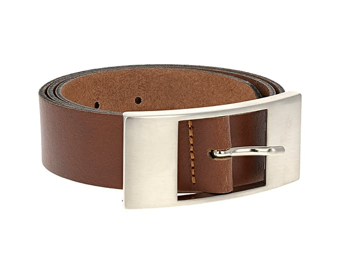 photography of a belt for an online shop