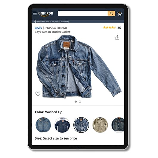 modefotografie voor amazon en e-commerce