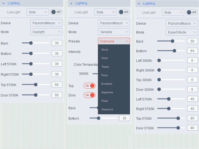 Product photo software tools