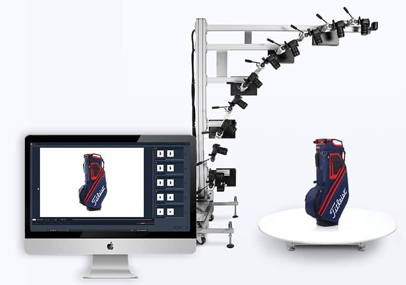 software automates the creation of 3D products animations